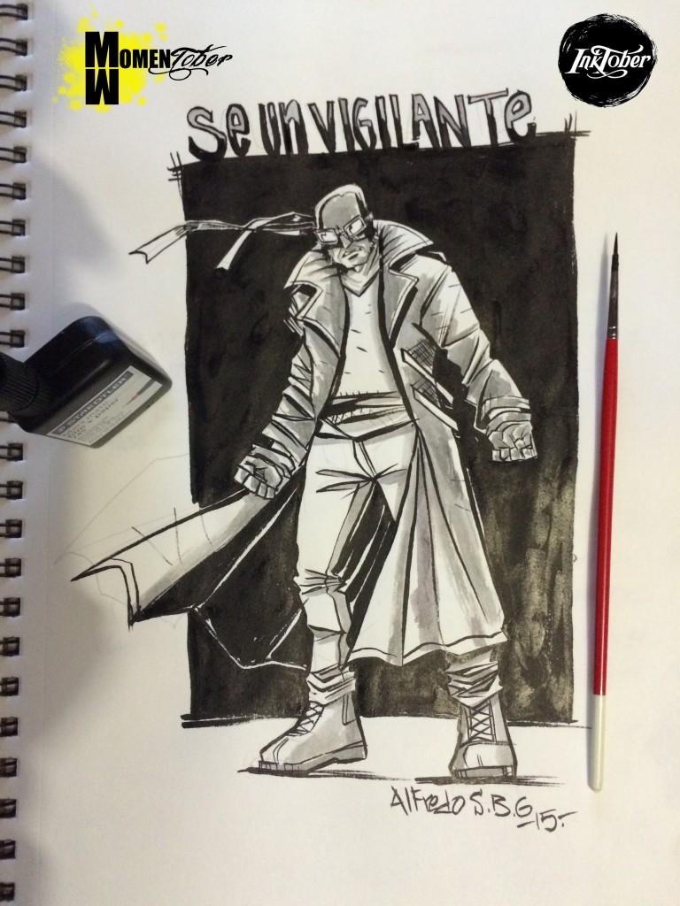 El vigilante -vigilantes- segun Alfredo Sanchez Bedolla
