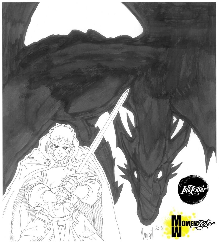 dragon y caballero -homo viator el errante- segun mario Nuricumbo
